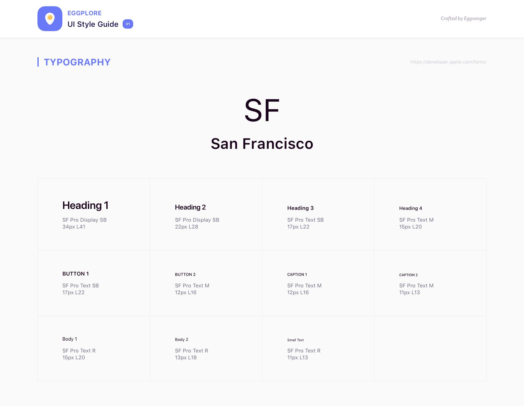 Eggplore UI风格指南插图1