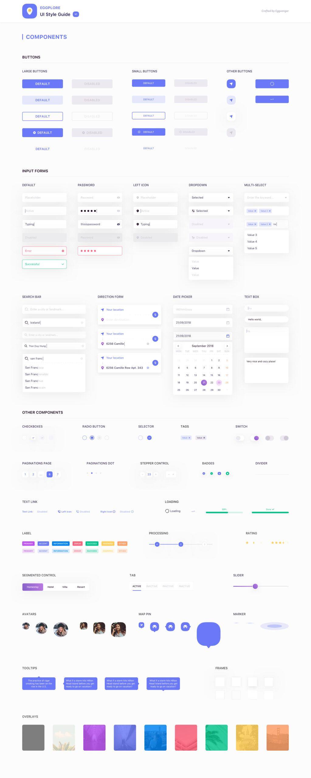 Eggplore UI风格指南插图2