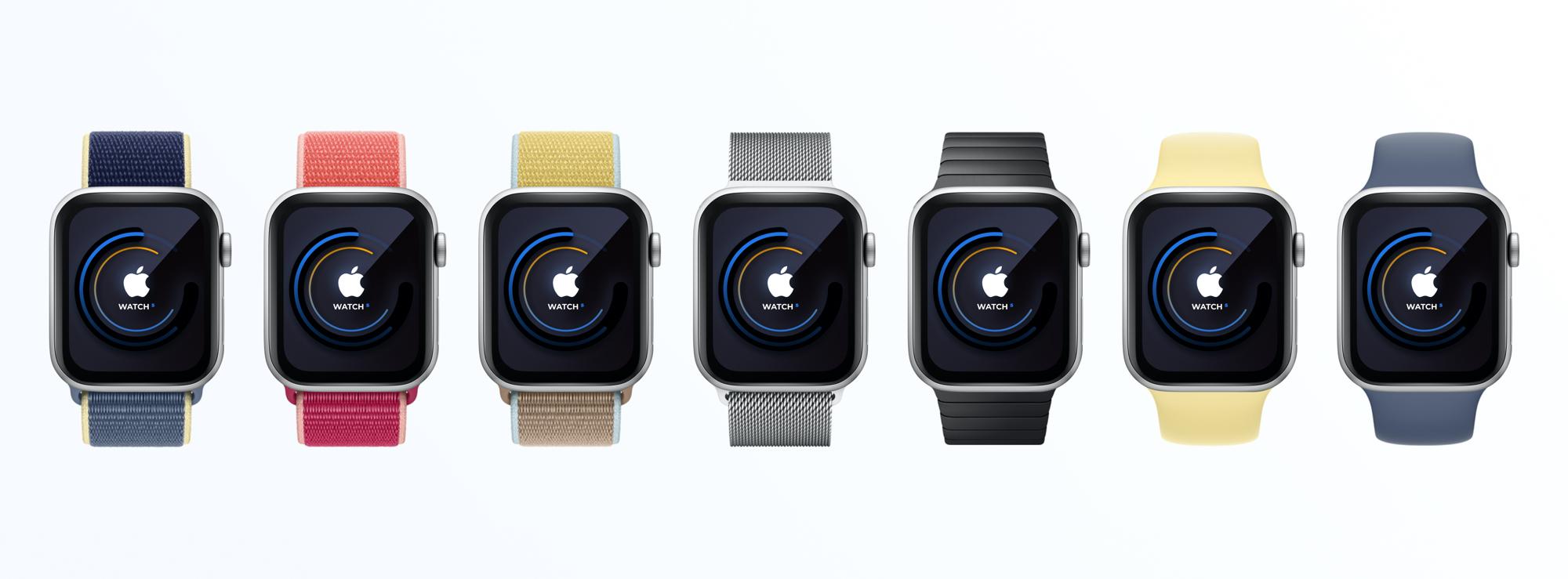 Apple Watch穿戴设备智能手表样机插图