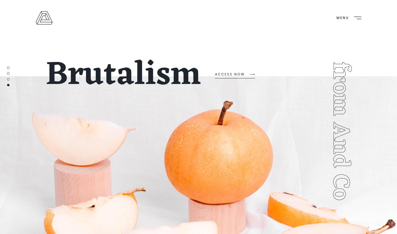 Brutalism设计套件-70个免费艺术板插图1