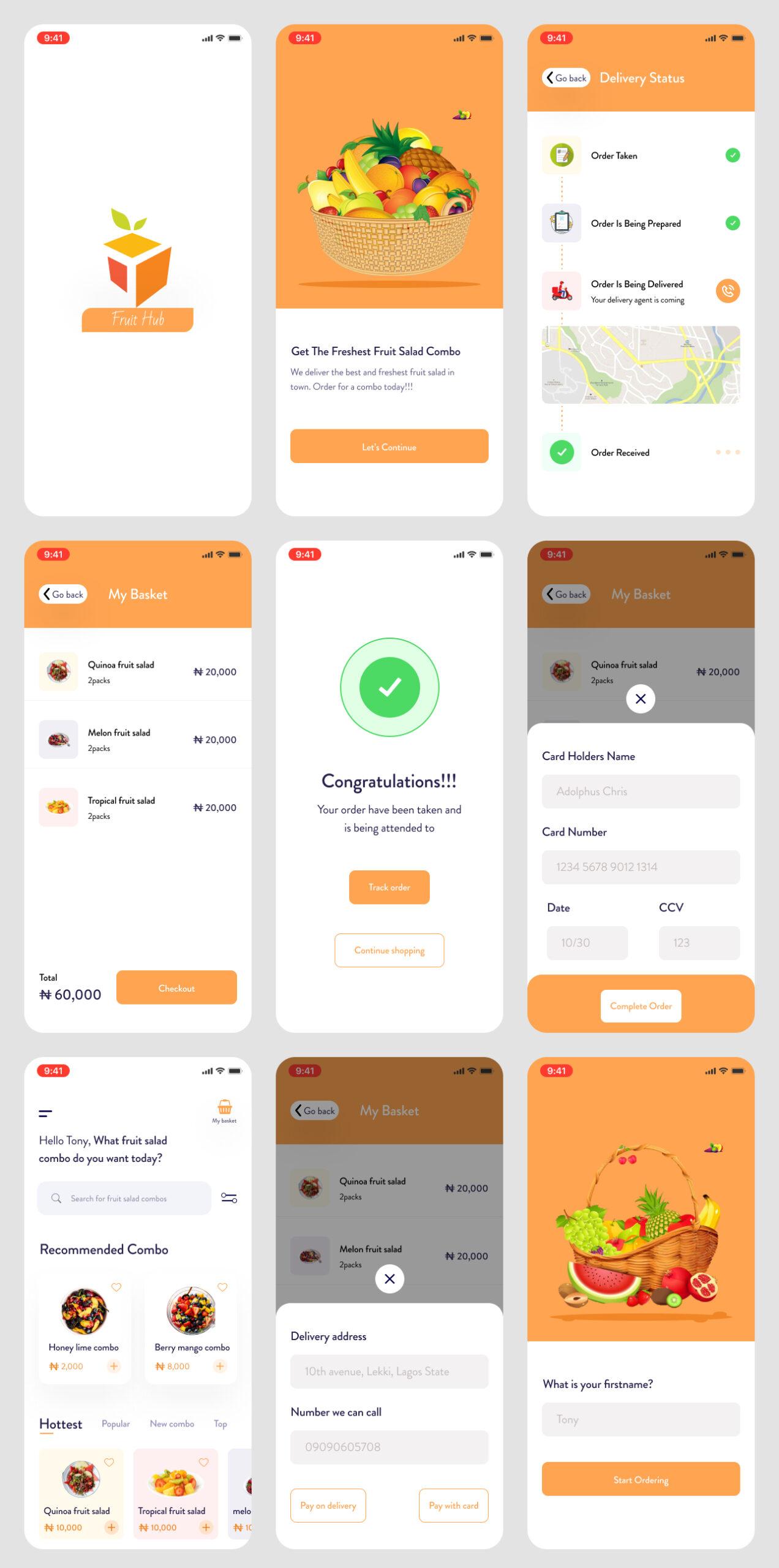 免费电子商务移动应用用户界面UI套件插图