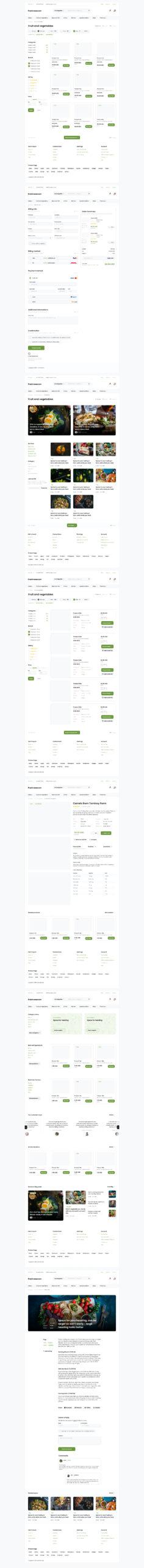 电子商务网站UI设计套件插图
