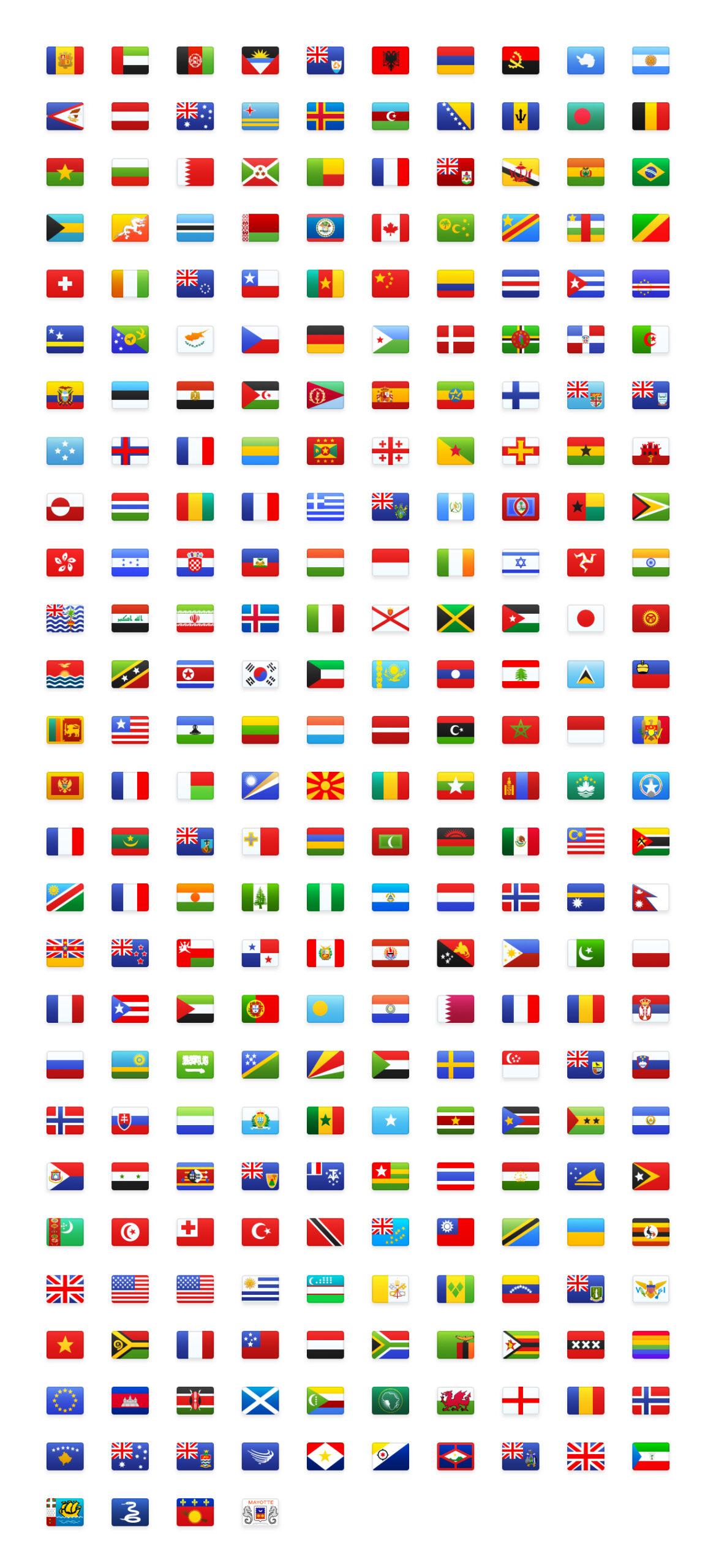 Flagpack免费旗帜图标包插图