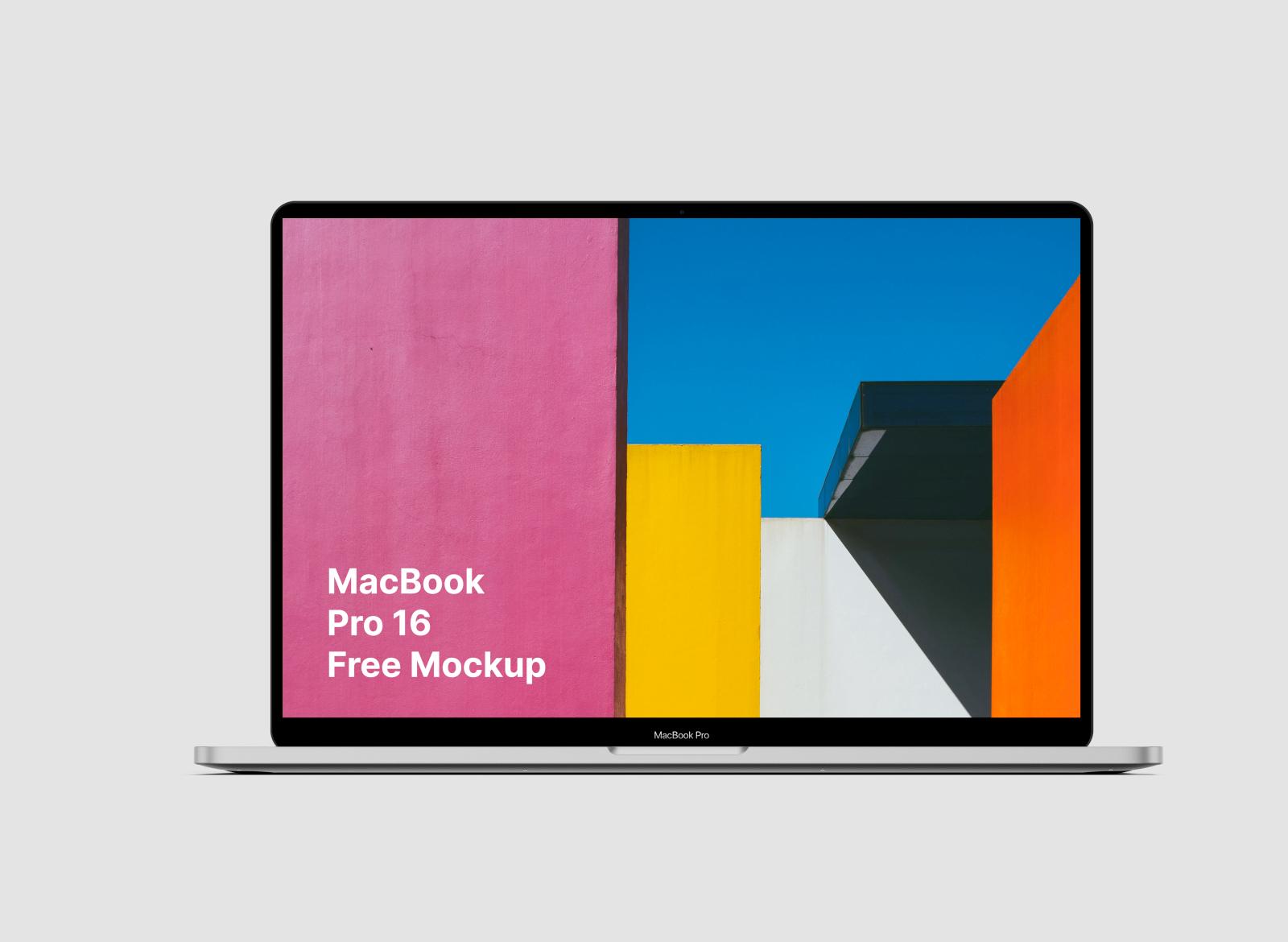 免费MacBookPro 16笔记本电脑样机插图