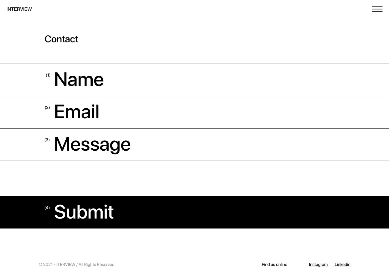 访问网页设计作品集免费着陆页设计插图6