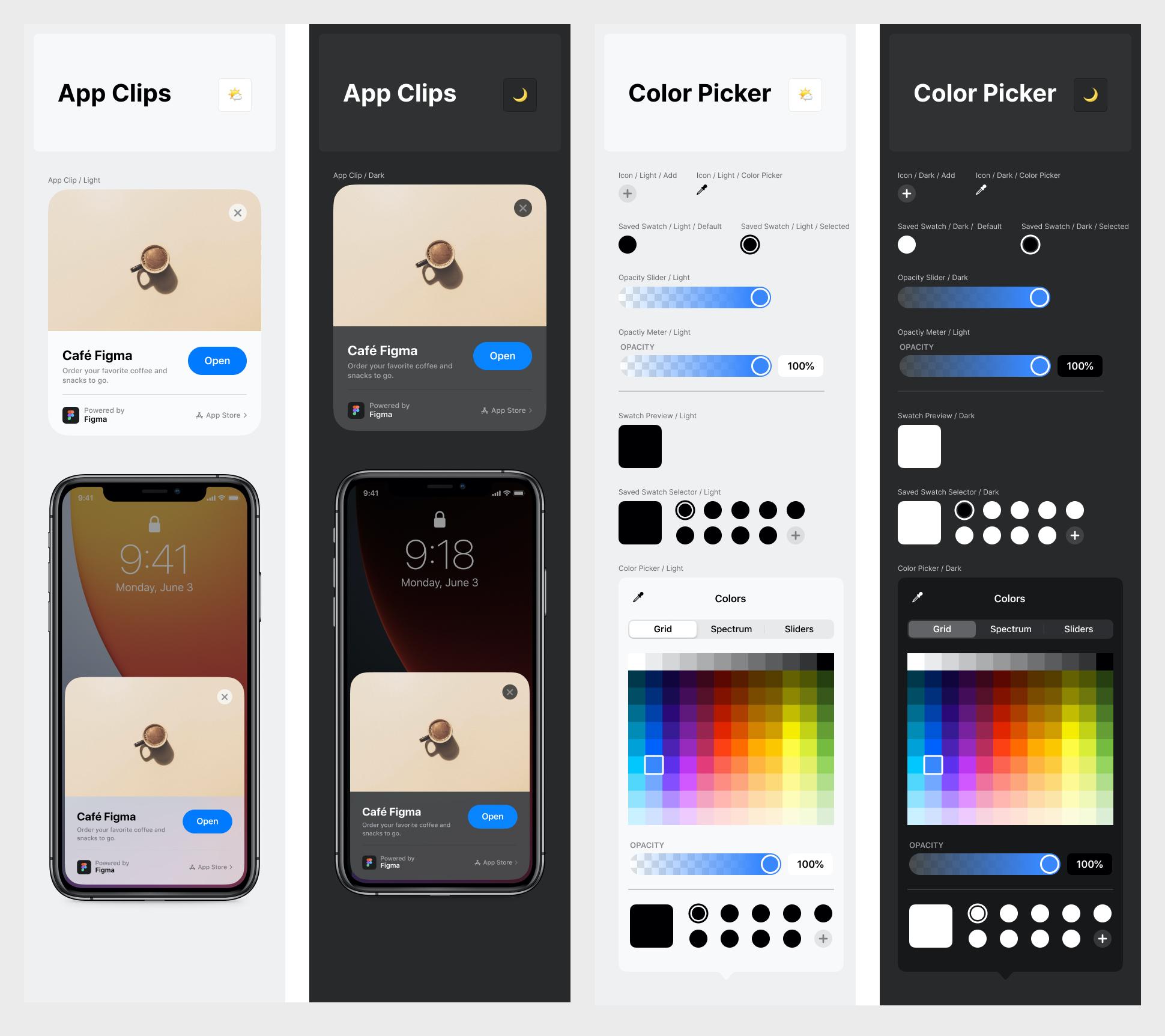 免费iOS/iPadOS 14手机系统UI设计套件插图7