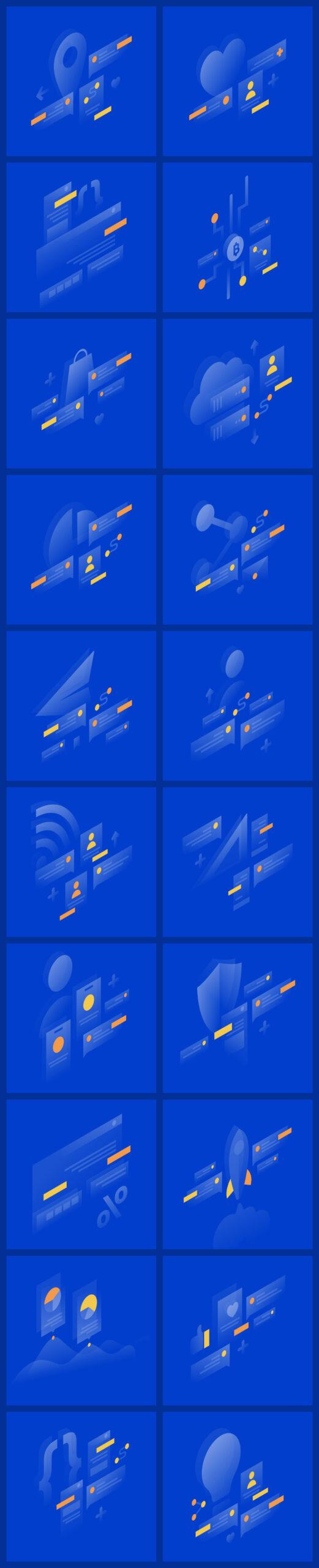 Lucid免费UI设计插画插图1