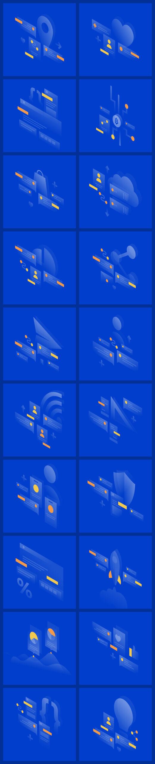 Lucid免费UI设计插画插图