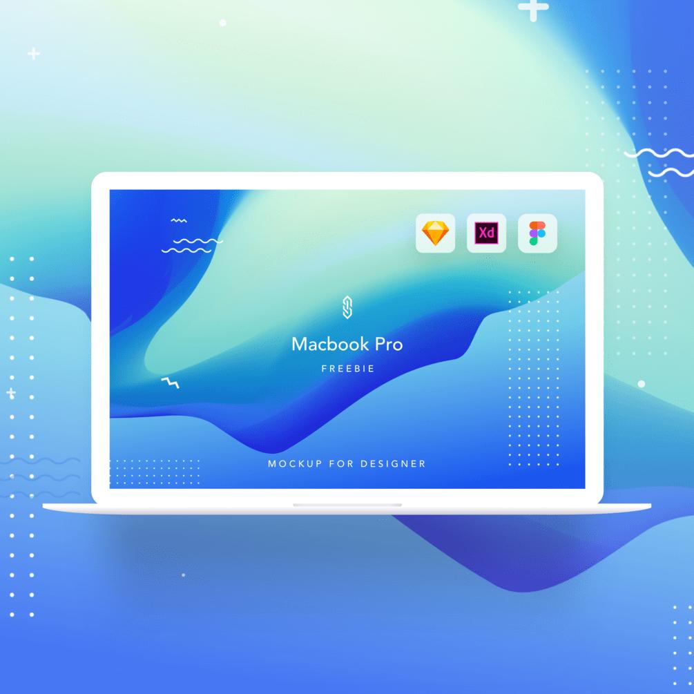 苹果笔记本电脑Macbook Pro样机插图