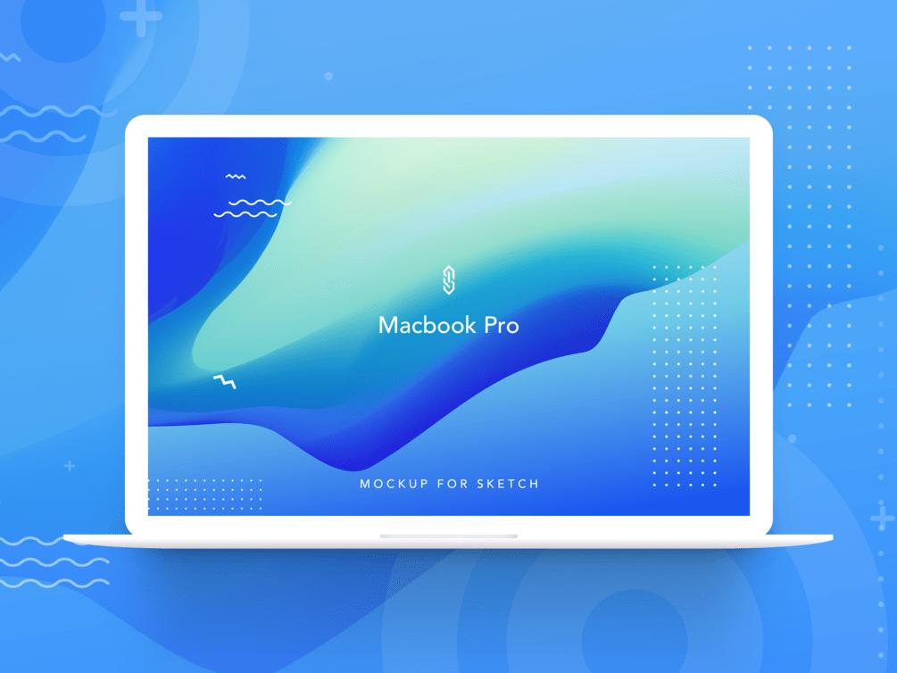 苹果笔记本电脑Macbook Pro样机插图2