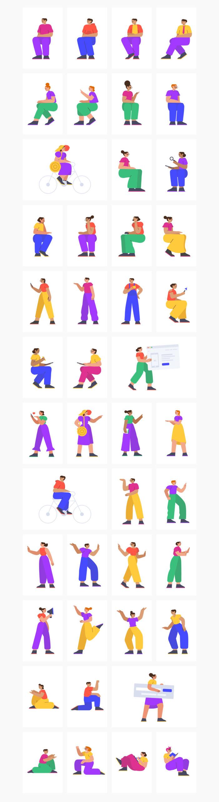 Smash人物插画素材包插图