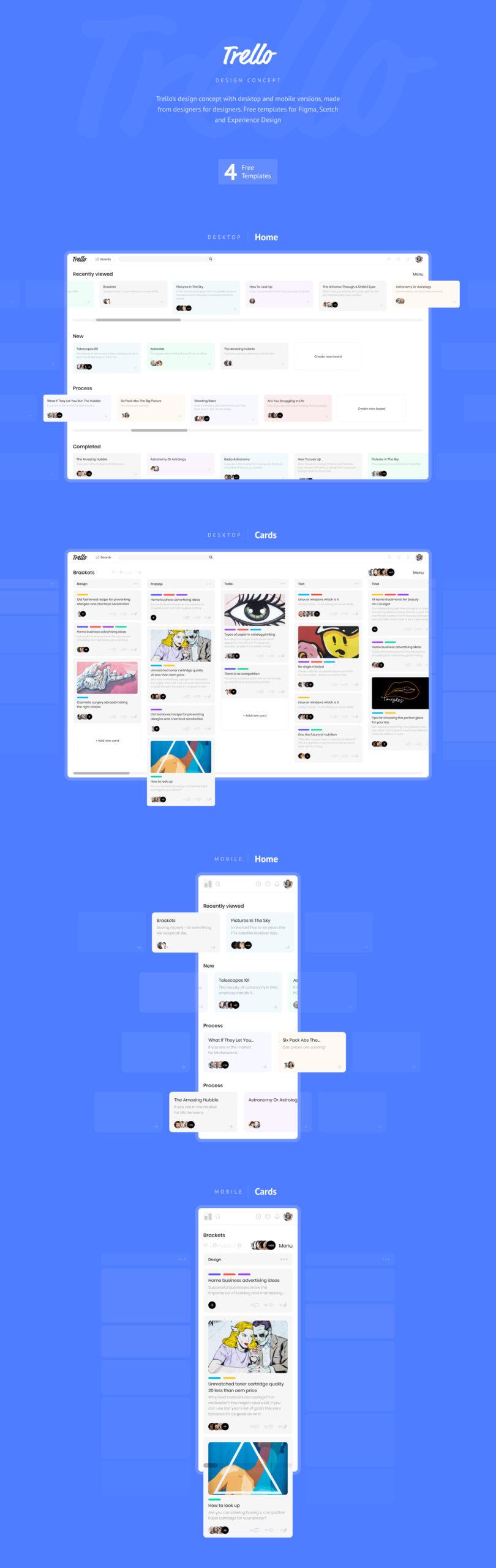 Trello概念设计插图