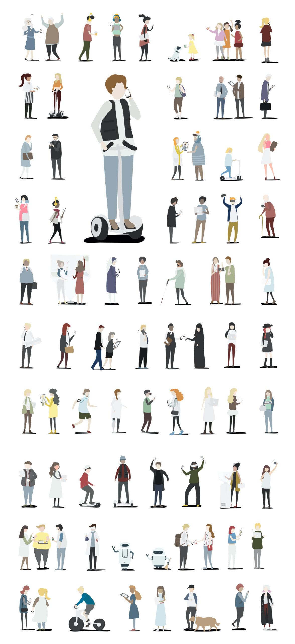 矢量人物插画合集插图
